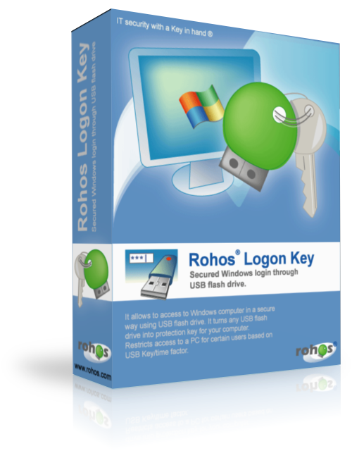 Rohos Logon Key - программа предлагает удобный способ защитить доступ
