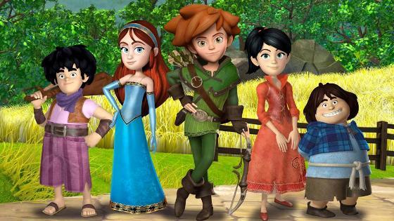 Jungfrauen von Sherwood Forest Cast