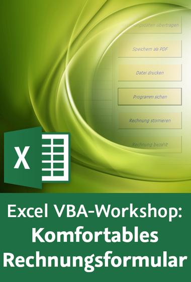 Video2brain Excel Vba Workshop Komfortables Rechnungsformular