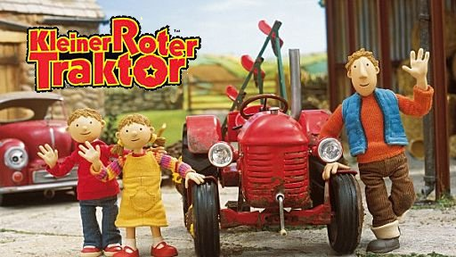 kleiner roter traktor - staffel 1-2 - dtv/dvd - sd